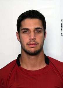 Yannick Fortin. Photo from Stingers website.