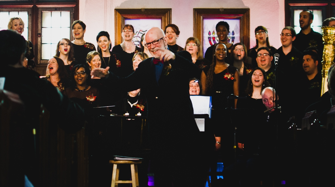 The Lyric Singers, pictured here at Loyola's chapel last year, are currently celebrating their 25th anniversary. Photo by Tam Lan Truong.