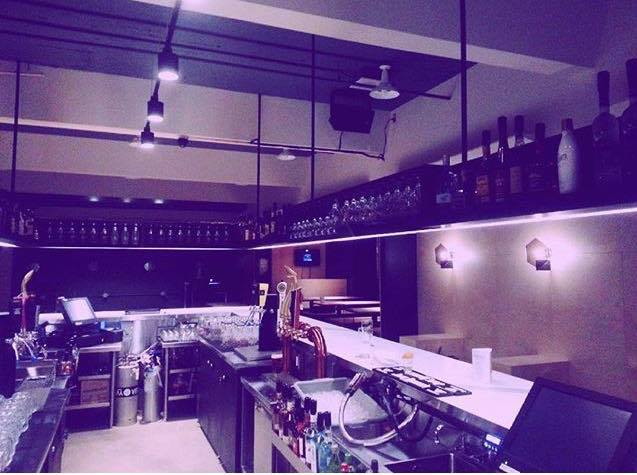 A view of the kitchen in the newly opened Reggie's. Photo by Tiana McLaughlan.