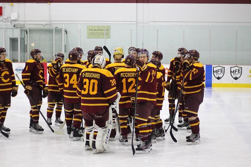 Injuries challenged rookies in men's hockey