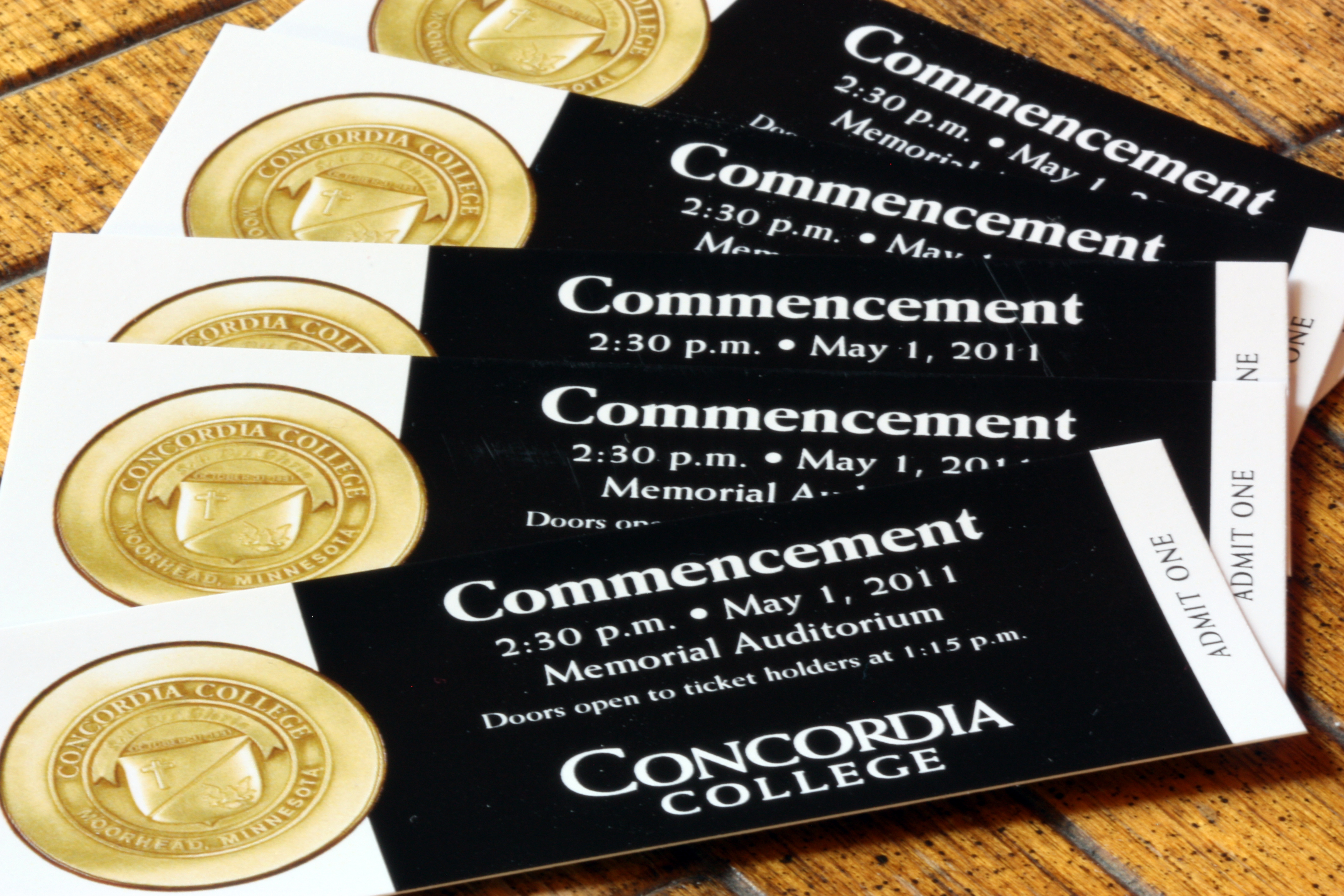 The Concordian – Commencement Tickets In High Demand For