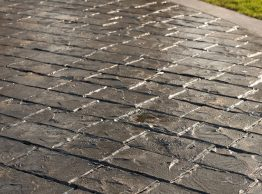 Stamped Concrete High Gloss Sealer