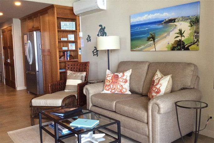 Papakea Resort L303 living room