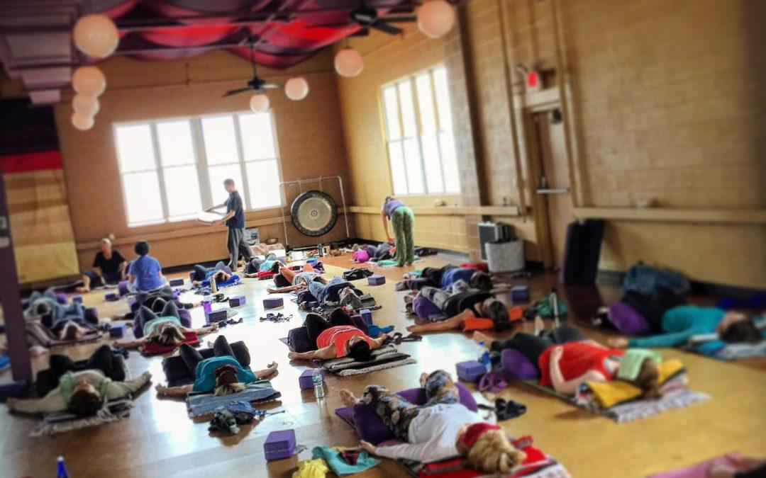 Restorative Yoga at W.H.Y.