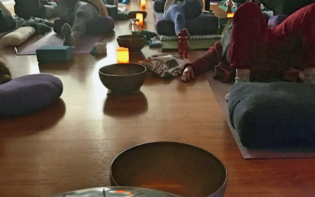 Candlelight Restorative Yoga & Sound Healing at BMY