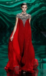 Monique LHuiller AW2013 Collection at Mercedes-Benz NYFW