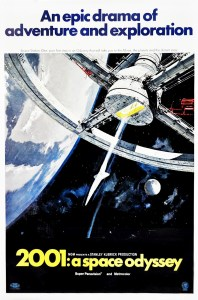 2001 A Space Odyssey (1968) Space Station One by Robert McCall