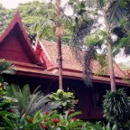 Jim Thompson's House and the Chao Praya River