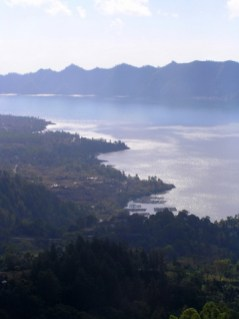 View from Kintimani, central Bali