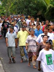 A funeral in Ubud