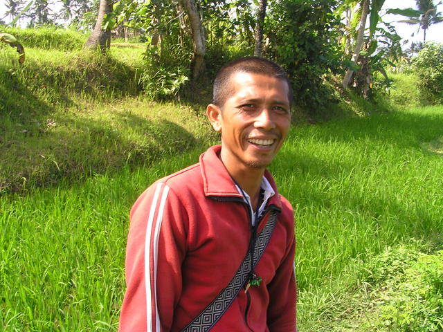My guide for the day, Betu, a local rice farmer