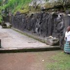A trek through rice fields to temples and an elephant cave