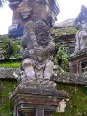 A Balinese temple
