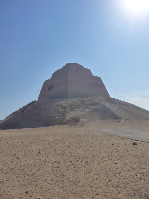 Stepped pyramid at Meidum