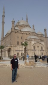 At the Mosque of Mohammed Ali (1830)