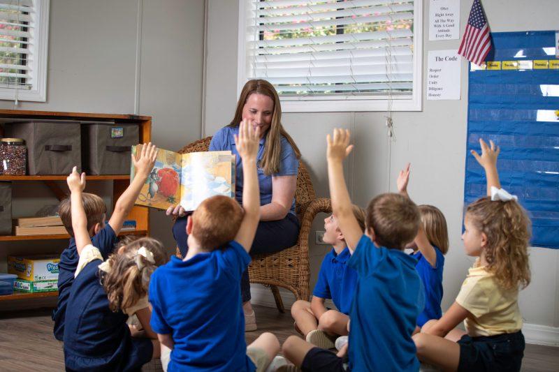Paula LeCompte Kindergarten reading