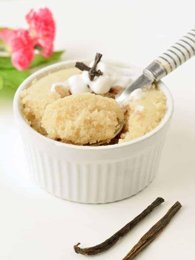 Vanilla Mug Cake Recipe Uk : vanilla, recipe, Vegan, Vanilla, Conscious, Plant, Kitchen