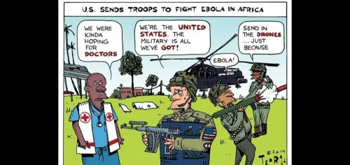 Troops to fight Ebola