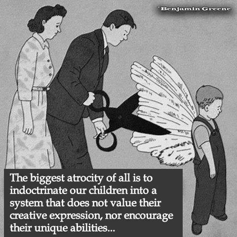 Clipping Childhood Wings