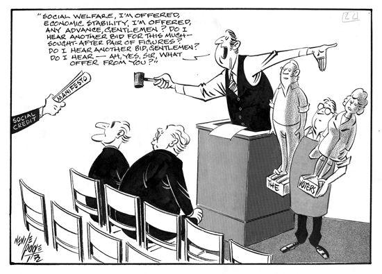 Chief Cartoon Political Executive
