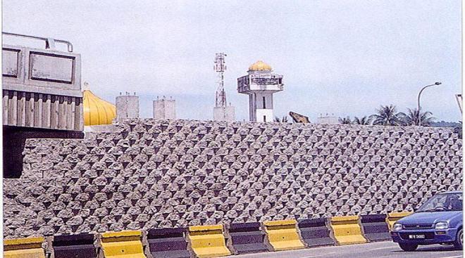 Reinforced Earth Wall