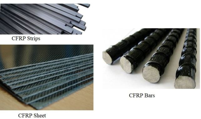 CFRP Strips, Sheets, and Bars