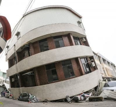 Failure of Building as a Result of Twisting Caused by Earthquakes