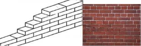 Plain Brick Parition Wall