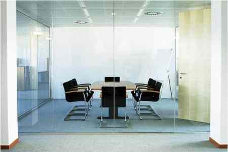 glass sheet partion wall