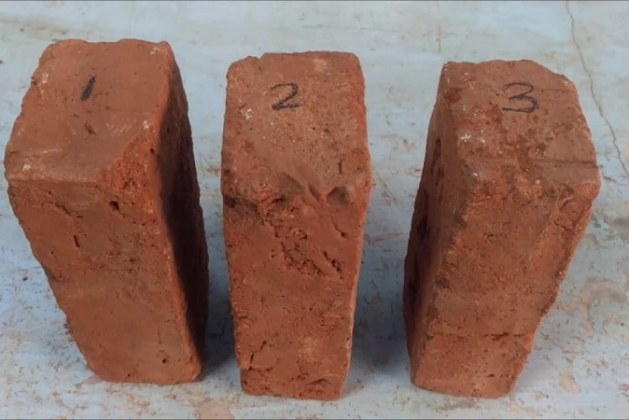Water Absorption Test on Bricks – Values and Procedures