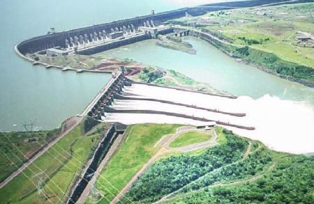 Itaipu Dam in Brazil