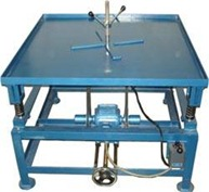 Vibrating table for concrete compaction