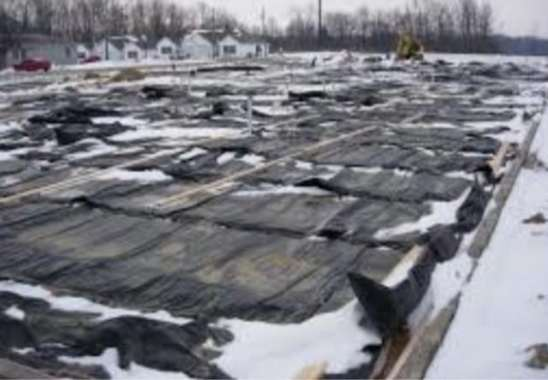 Concrete Protection in Cold Weather