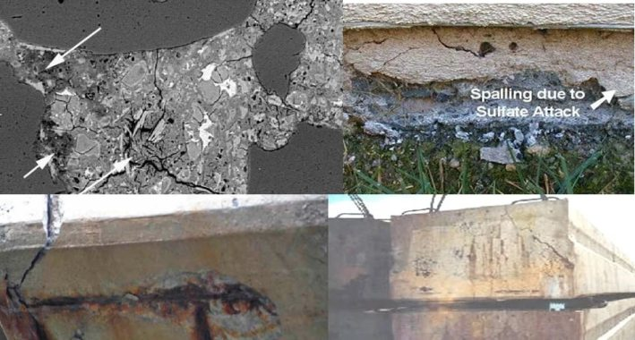 Types of Sulphate Attack in Concrete