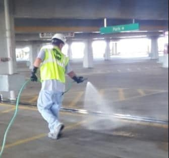 Application of Corrosion Inhibitor for Concrete Surface