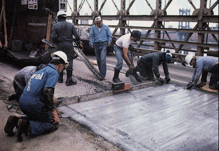 Polymer Concrete Overlay For Bridge Deck