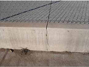 Sealing concrete contraction joints in buildings