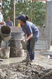 Procedure of Hand Mixing of Concrete