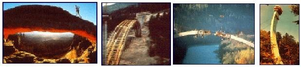 Arch Method of Bridge Construction: