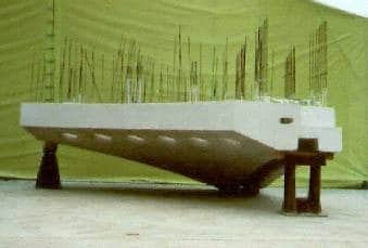 Reinforced precast concrete
