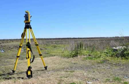 Surveying Instrument in the Field