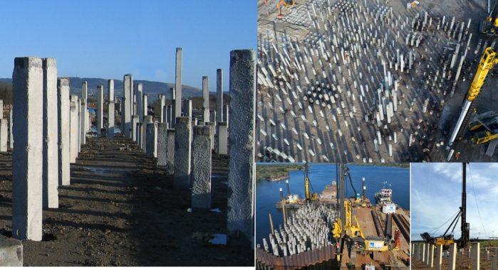 Driven Precast Concrete Pile