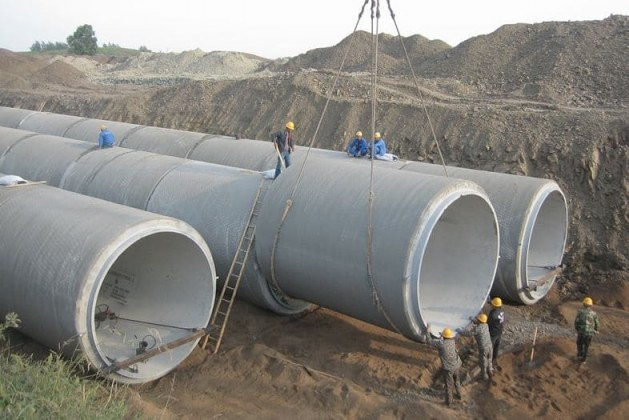 Prestressed Concrete Pipes – Types, Uses and Manufacture