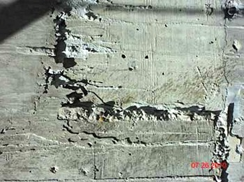 Cold Joint in Concrete