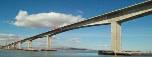 Bridge Structure Constructed From High Performance Concrete in Severe Environment