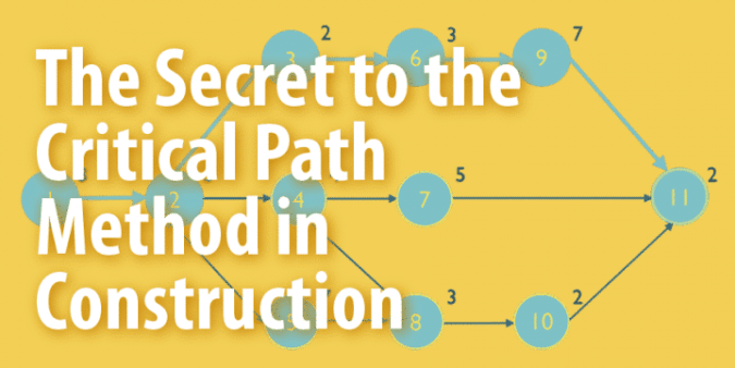 Critical Path Method in Construction Project Management