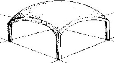 Translation thin shell structure