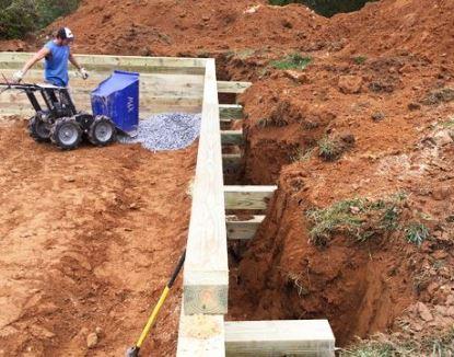 Base Preparation for Concrete Foundation Construction
