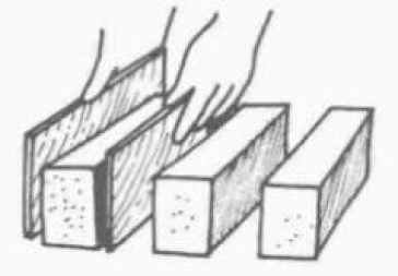 brick set on the ground cause oversize in length and width
