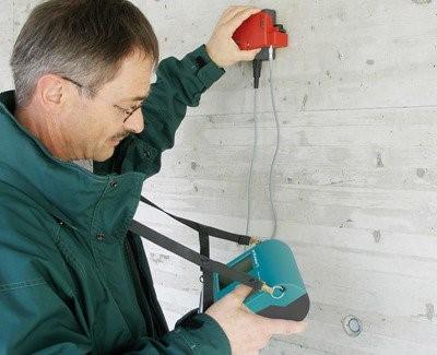 Reinforcement Cover Measurement Using Profometer